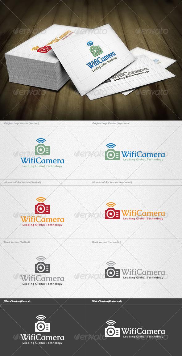 GraphicRiver Wifi Camera Logo 4421043