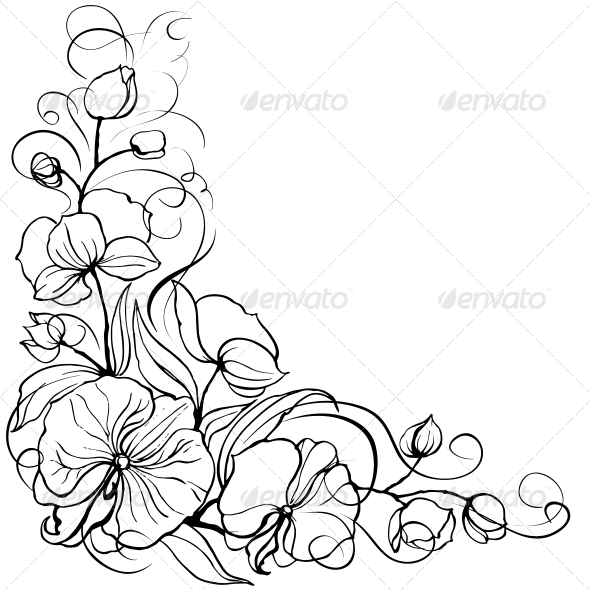 GraphicRiver Orchid Flower 4421061