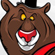Cheerful Cartoon Bear With The Hat - GraphicRiver Item for Sale