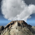 Volcanic eruption on island - PhotoDune Item for Sale