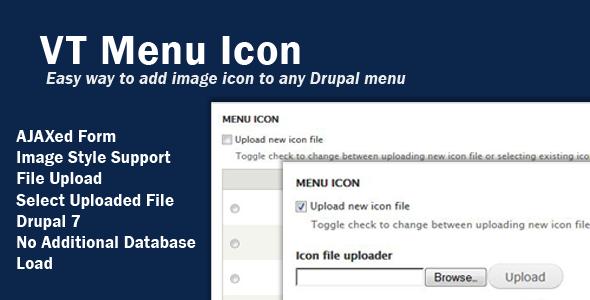 CodeCanyon VT Menu Icon 4421229
