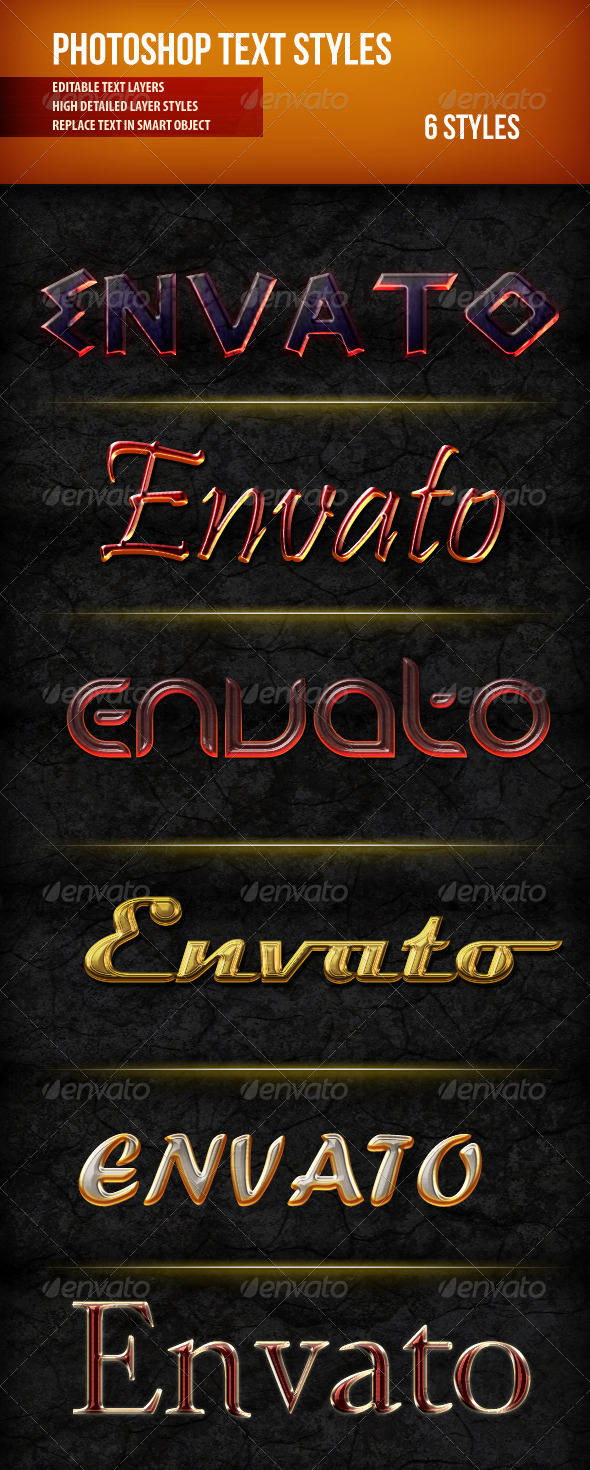 GraphicRiver Photoshop Text Styles 1 4422544