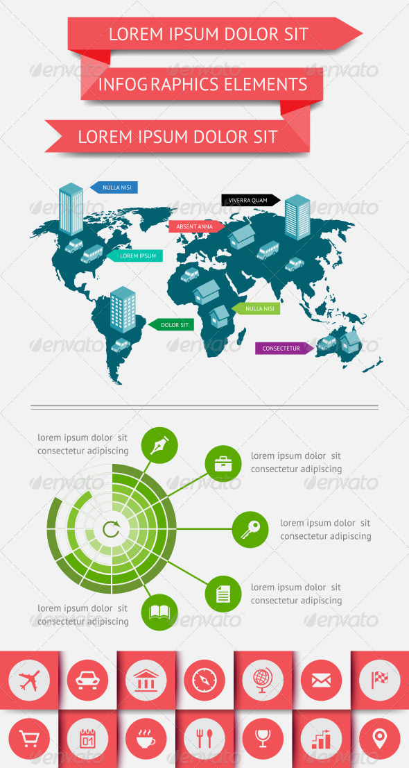 GraphicRiver Infographics and Web Elements 4423330