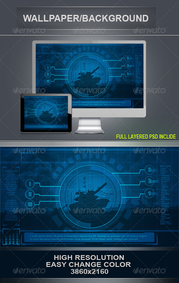 GraphicRiver War Background 4376381