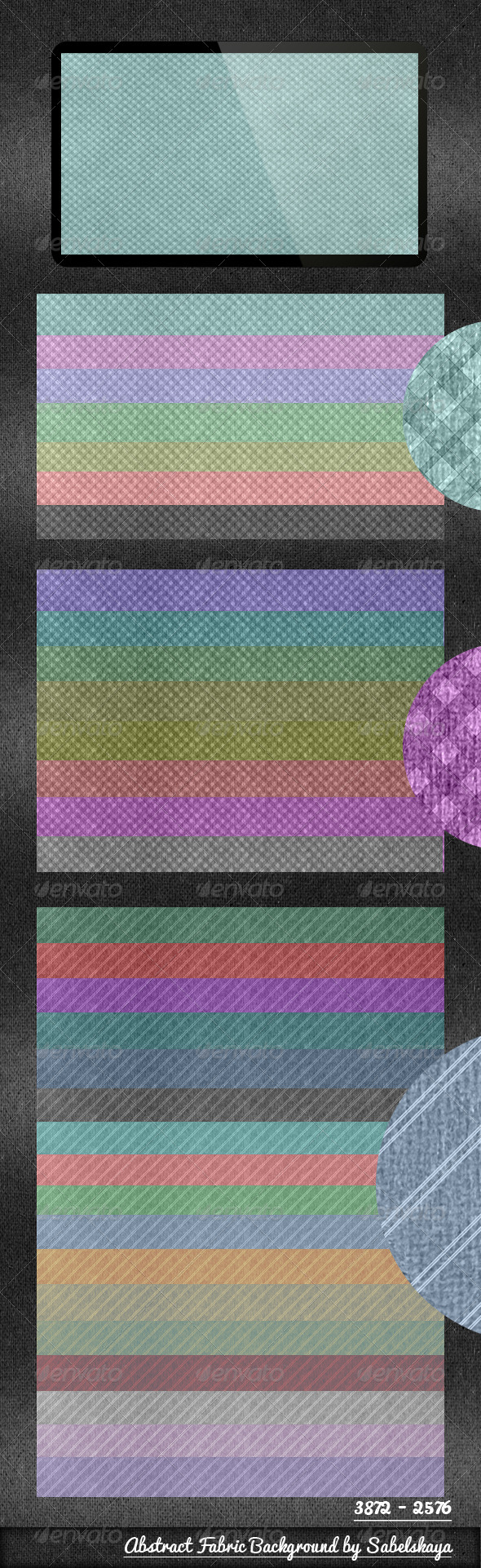 GraphicRiver Abstract Fabric 33 Backgrounds 4423766