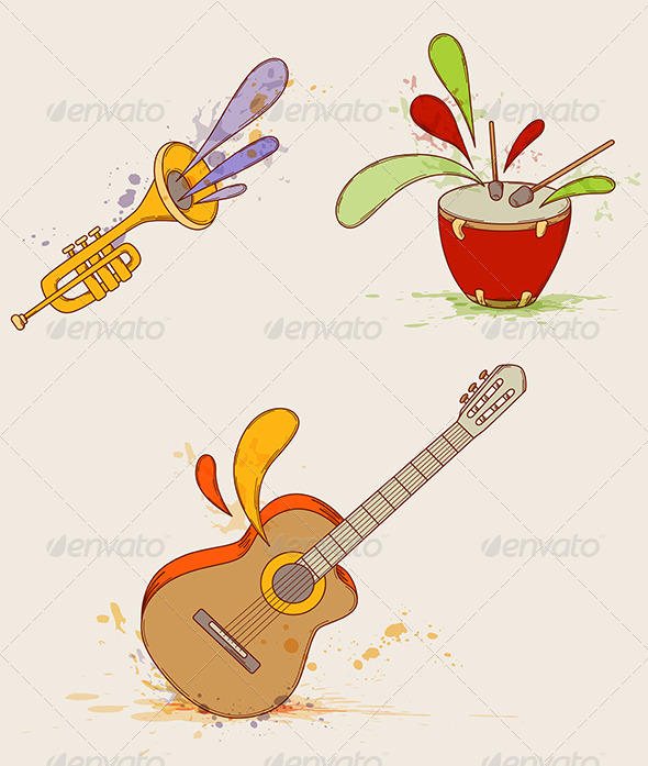 GraphicRiver Musical Instruments 4424281