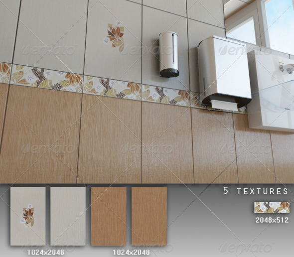 3DOcean Professional Ceramic Tile Collection C015 428331