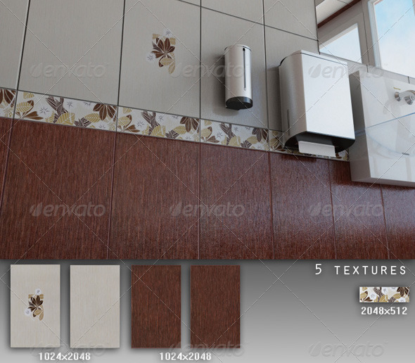 3DOcean Professional Ceramic Tile Collection C013 428315