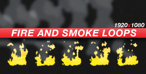 Anime Action Essentials Fire and Smoke Loops
