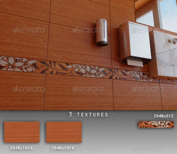 3DOcean Professional Ceramic Tile Collection C009 428289