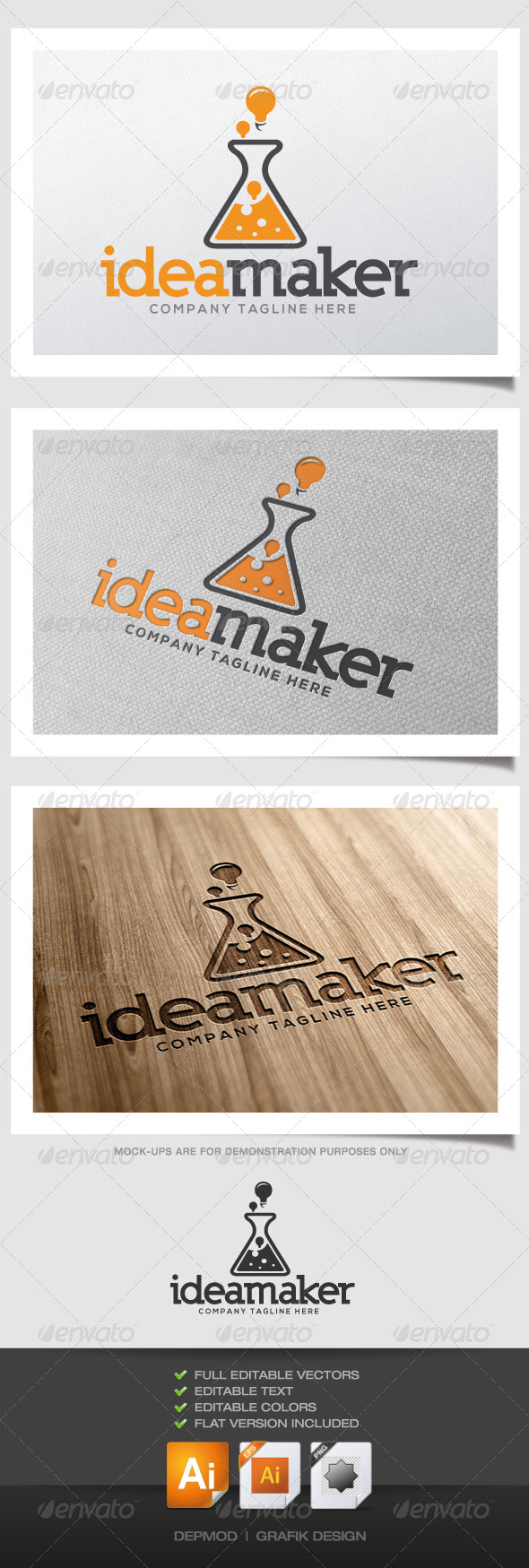 GraphicRiver Idea Maker Logo 4426351