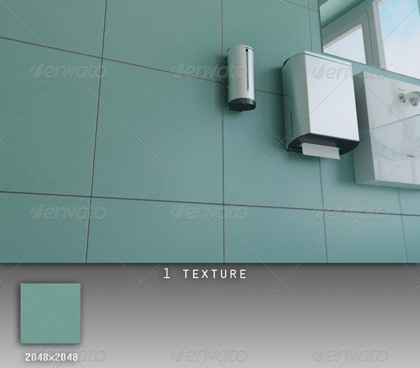 3DOcean Professional Ceramic Tile Collection C007 428281