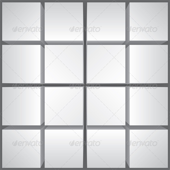 GraphicRiver Abstract Background with Cubes in Perspective 4426819