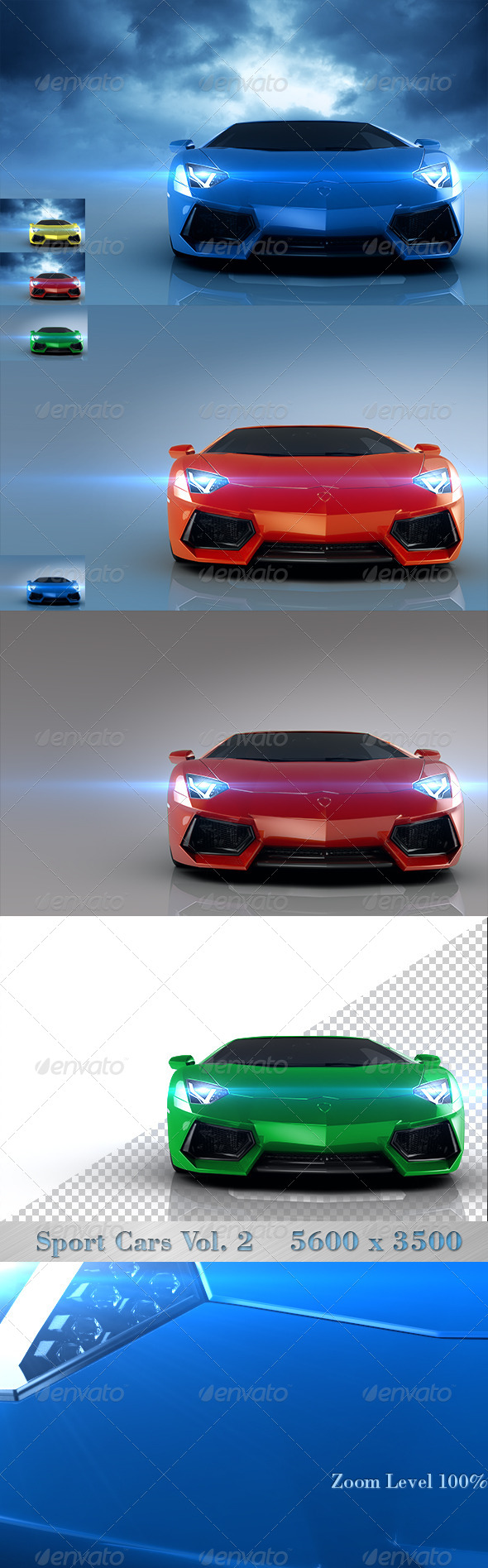 GraphicRiver Sport Cars Vol 2 4427088