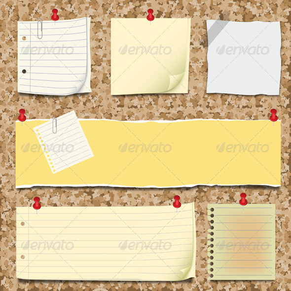 GraphicRiver Back to school notepaper collection 473670