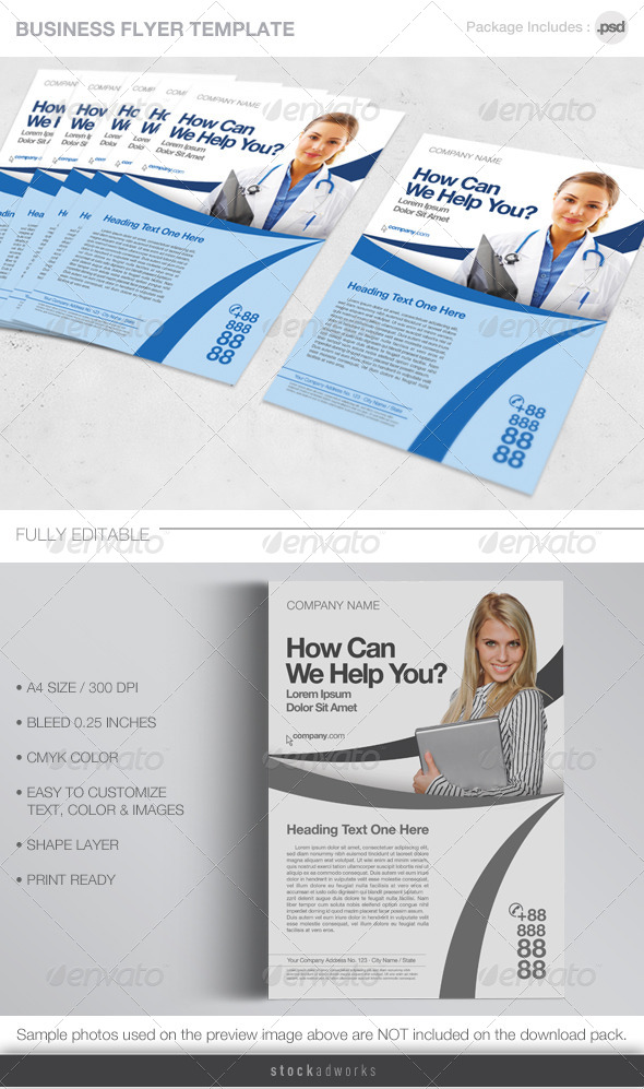 GraphicRiver Business Flyer 4427379