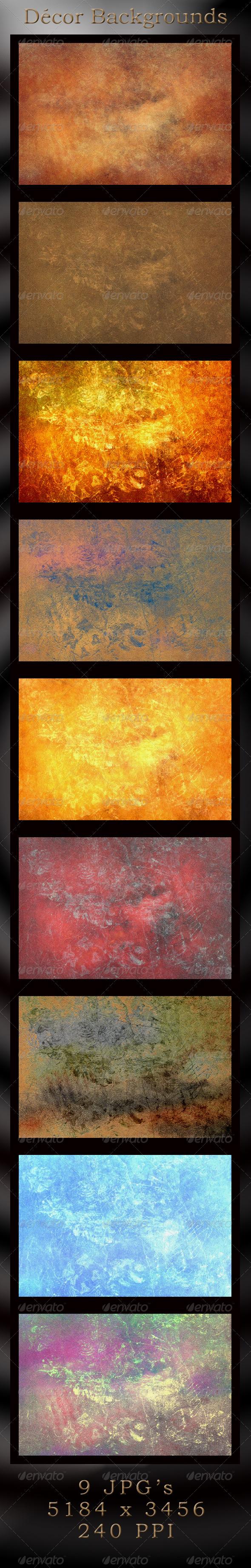 GraphicRiver Decor Craquelure Backgrounds 4427386