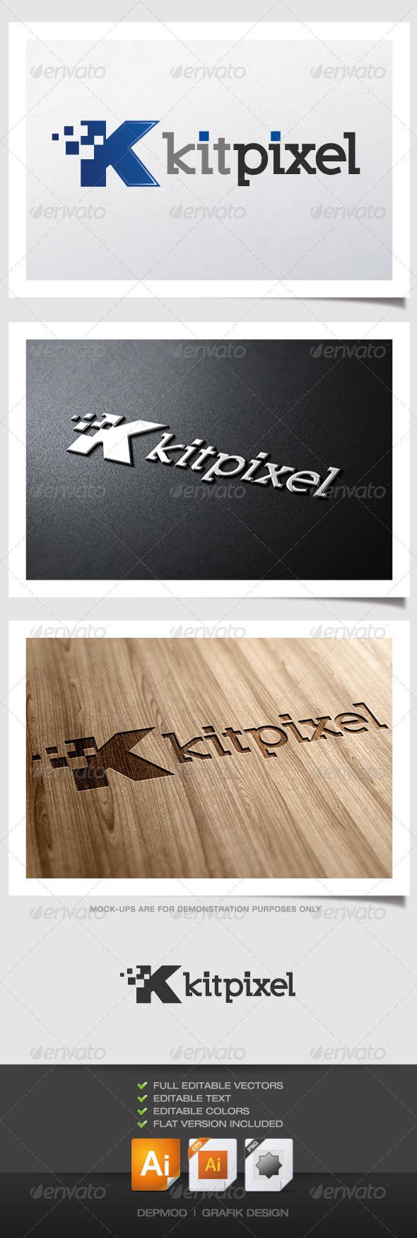 GraphicRiver Kit Pixel Logo 4346698