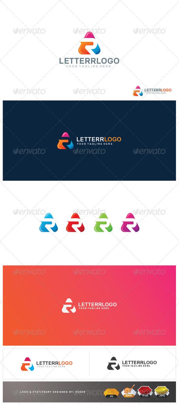 r letter logo - Letters Logo Templates
