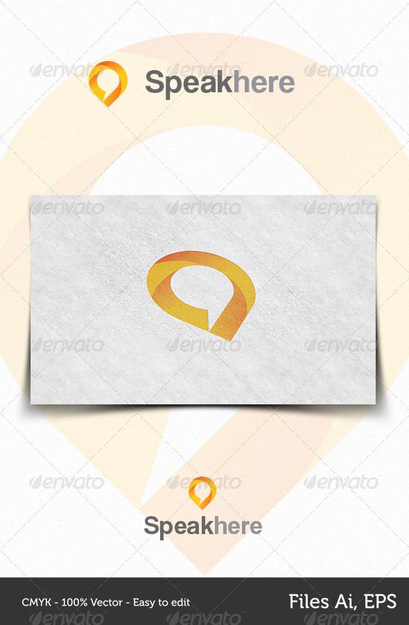 GraphicRiver Speakhere 4340667