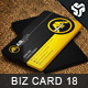 Business Card Design 18 - GraphicRiver Item for Sale
