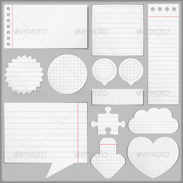 GraphicRiver Paper Objects 4429000