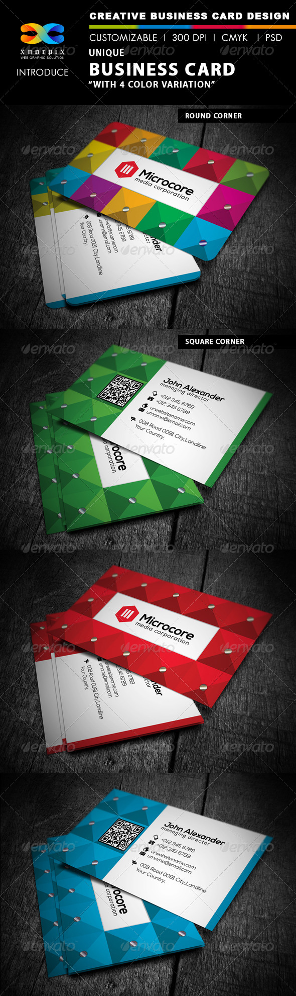 GraphicRiver Luxury Business Card 4429013