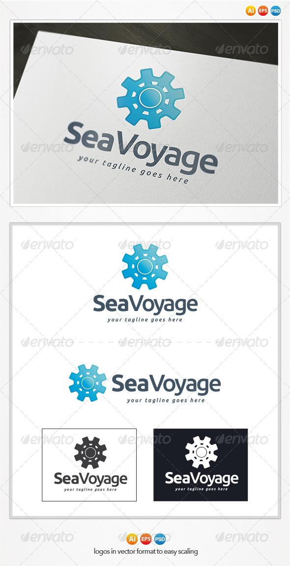 GraphicRiver Sea Voyage Logo 4346557