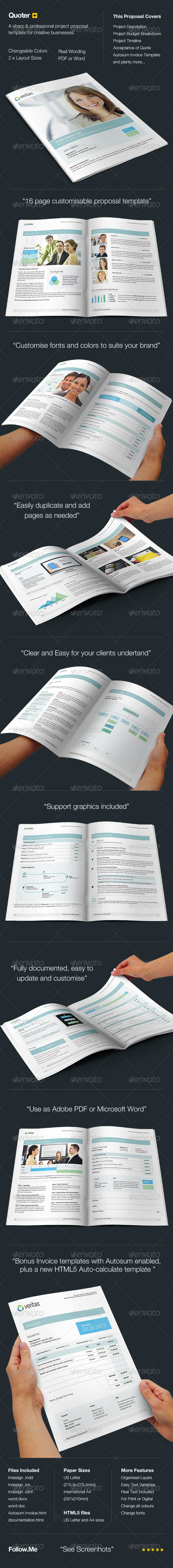 GraphicRiver Quoter Proposal & Invoice Template 4429202