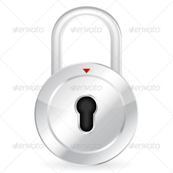 GraphicRiver Padlock 4429284