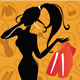 Sale Girl Silhouette - GraphicRiver Item for Sale