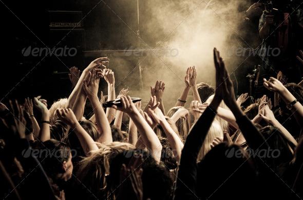 PhotoDune Concert crowd 4429669
