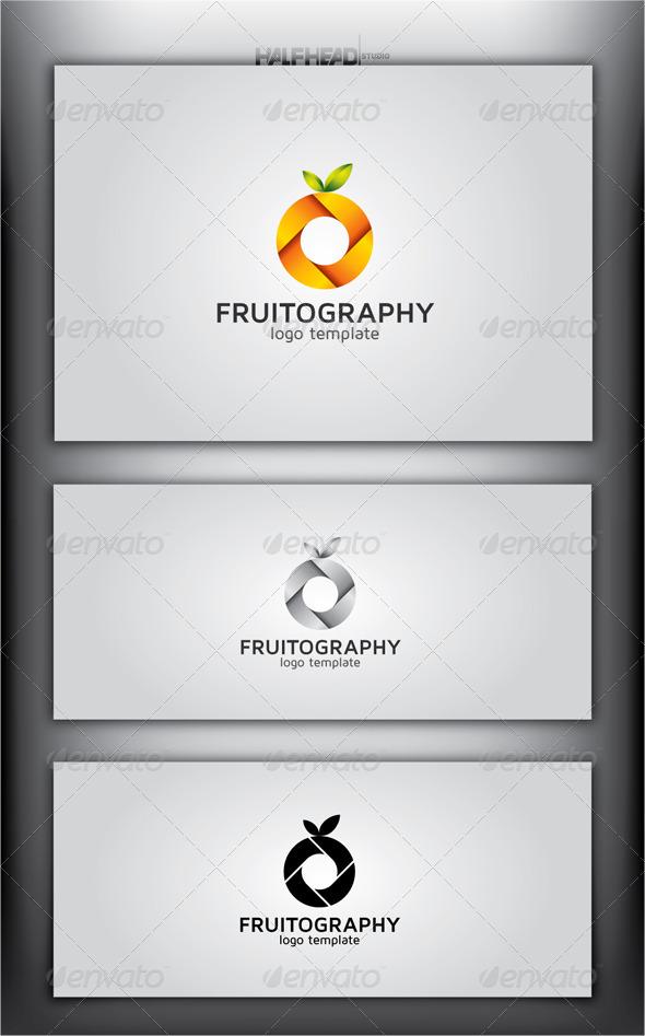 GraphicRiver FRUITOGRAPHY Logo Template 4429745