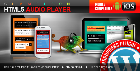 CodeCanyon HTML5 Audio Player WordPress Plugin 4429751