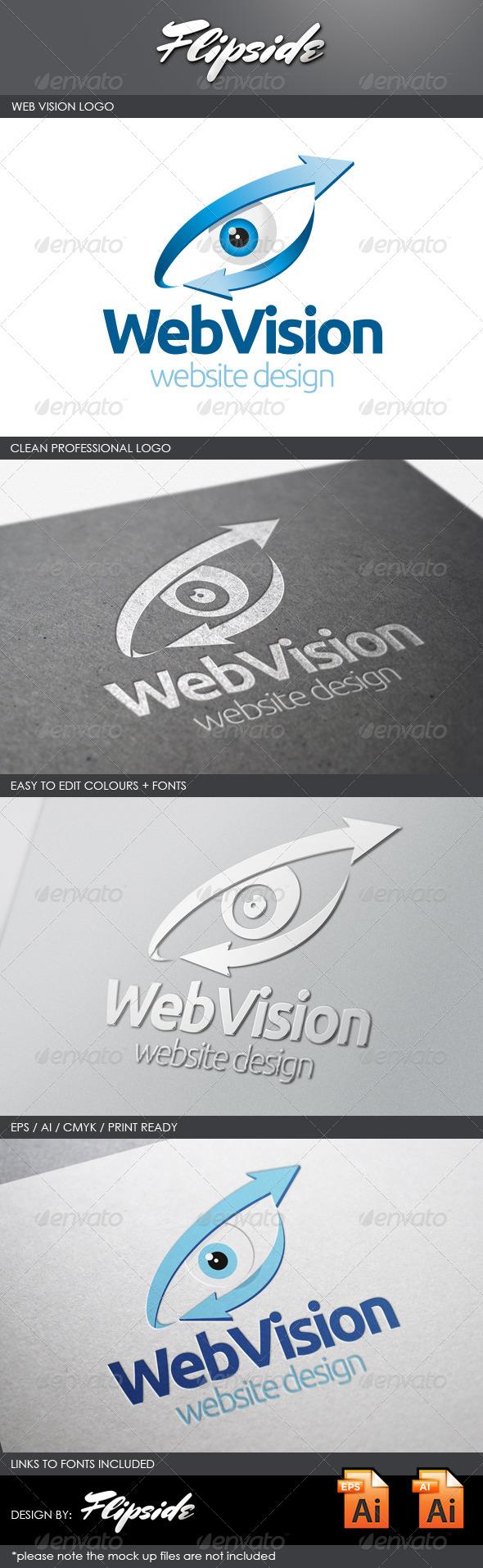 GraphicRiver Web Vision Logo 4329237