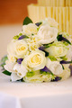 Yellow roses and cake at wedding - PhotoDune Item for Sale