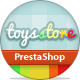 ET Toys Store PrestaShop Template