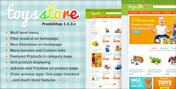 ThemeForest ET Toys Store PrestaShop Template 4431484