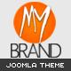 MyBrand – Responsive, Multipurpose Joomla Template  Free Download