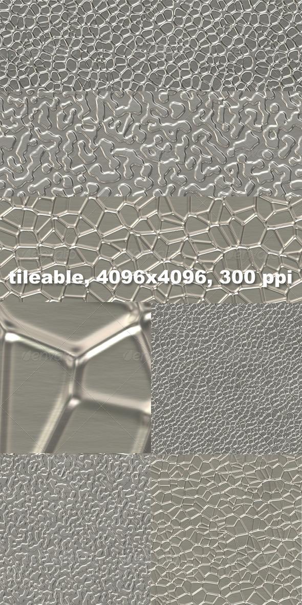 GraphicRiver 3 Embossed Aluminium Textures 4432105