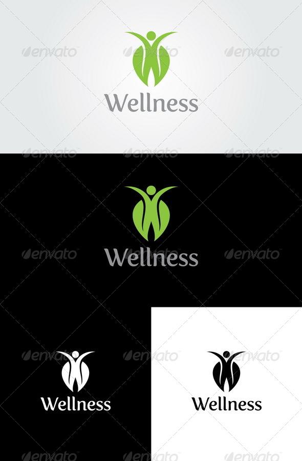 GraphicRiver Wellness Logo Template 4432555