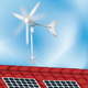 Solar Panel and Windmill - GraphicRiver Item for Sale