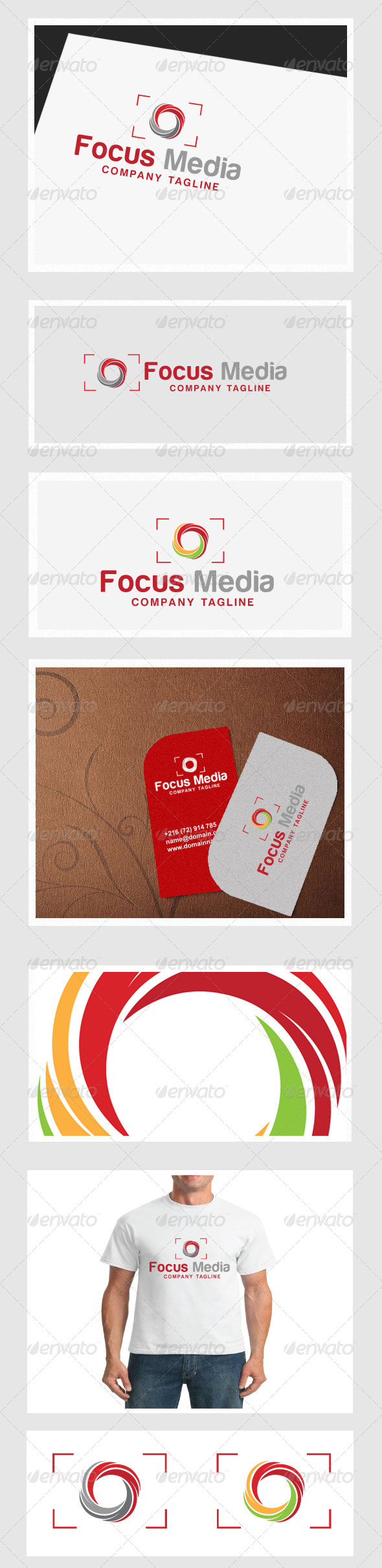 GraphicRiver Focus Media 4355325