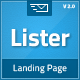 Lister - Premium Landing Page - ThemeForest Item for Sale