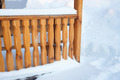 Detail of outdoor arbor in winter - PhotoDune Item for Sale