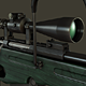 SV98 Sniper rifle - 3DOcean Item for Sale