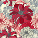 Floral Pattern with Dahlia Flowers. - GraphicRiver Item for Sale