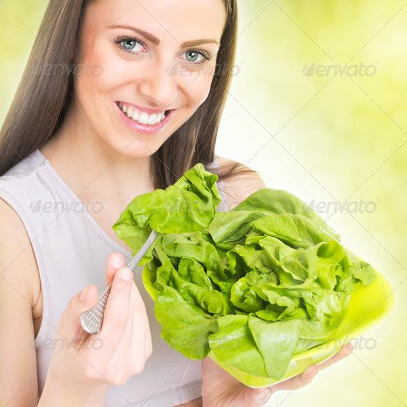 Spring healthy snack - Stock Photo - Images