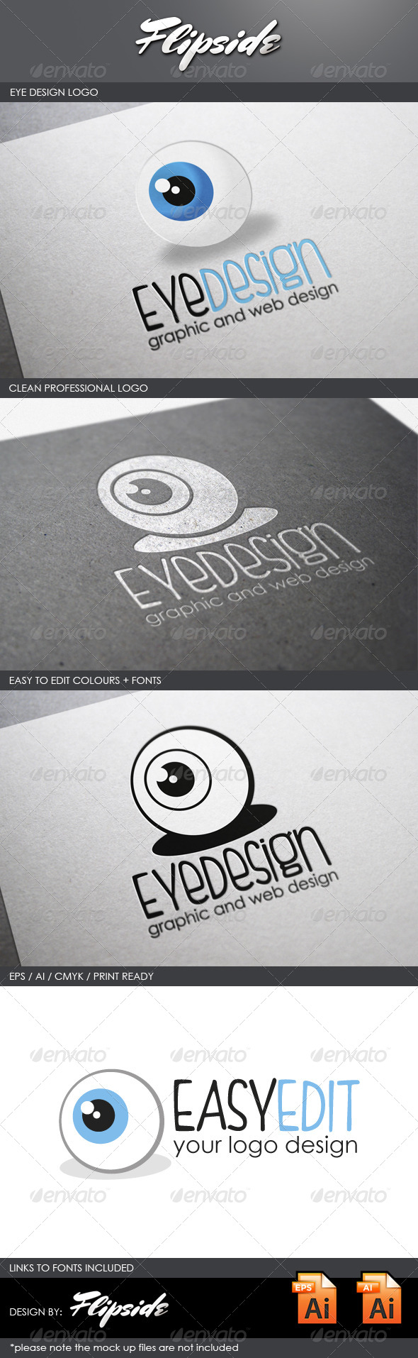 GraphicRiver Eye Design Logo 4327422
