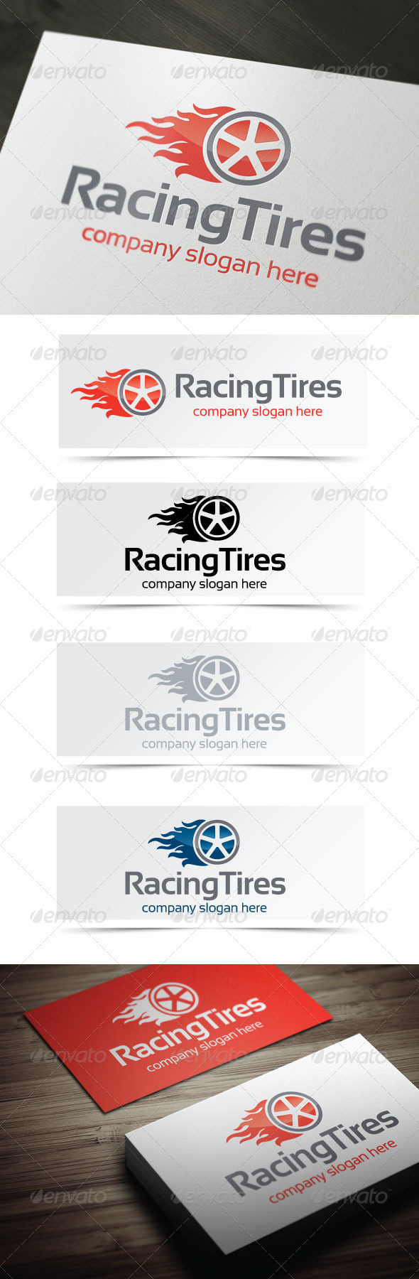 GraphicRiver Racing Tires 4434242